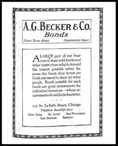 AI#2501A 19210628 Bonds