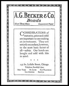 AI#2501C 19210714 Bonds