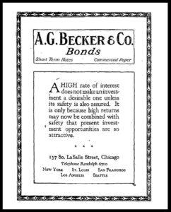AI#2501E 19210726 Bonds