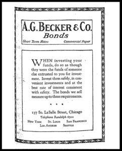 AI#2501F 19210728 Bonds