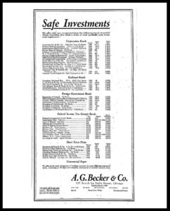 AI#2508 19241023 Safe Investments