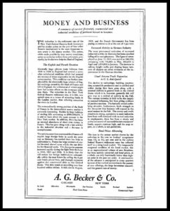 AI#2514 19270810 Money and Business