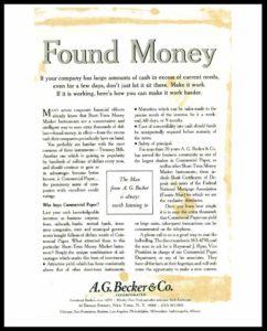 AI#2533 19550512 Found Money