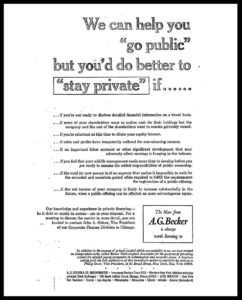 AI#2548 Stay Private