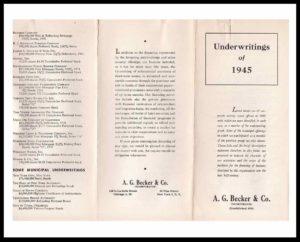DI#1132A 1945 U-W Participations