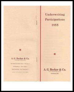 DI#1133A 1955 U-W Participations