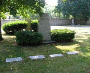 DI#1136 AGB Rosehill Tombstone